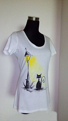 Tričká - Dovolenka (mačička) - 7185210_