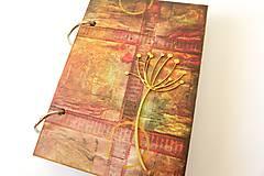 Papiernictvo - zápisník s púpavou - 7182389_