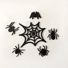 Magnetky - Pavúky – sada magnetiek - 7184237_