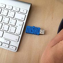 Iné - USB kľúč s vlastným textom (32GB 3.0) - 7184540_