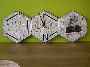 Hodiny - nástenné hodiny pre chemikov - 7184534_