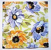 - Servítka K112- Maľované kvety - 7185783_