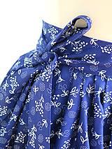 Sukne - zavinovacia folk sukňa - 7185522_