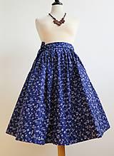 Sukne - zavinovacia folk sukňa - 7185523_