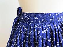 Sukne - zavinovacia folk sukňa - 7185524_