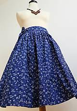 Sukne - zavinovacia folk sukňa - 7185525_