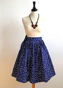 Sukne - zavinovacia folk sukňa - 7185520_