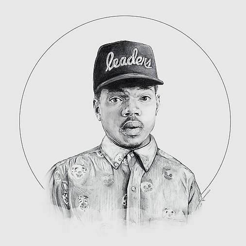 Chance the Rapper_square print