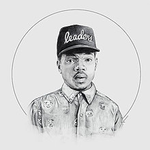 Kresby - Chance the Rapper_square print - 7185678_