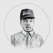 Kresby - Chance the Rapper_square print - 7185678_
