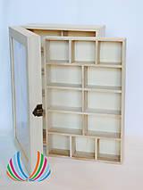 - Krabica 2 úrovňová presklená 30x20x10 cm - 7183056_