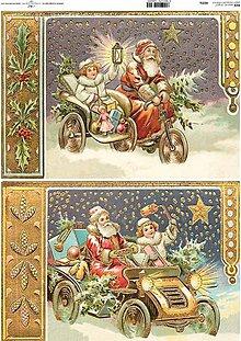 Papier - ryžový papier Vianoce - 7185392_