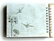 Papiernictvo - Vintage svadobný album BLISS 1 - 7184777_