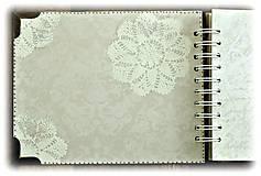Papiernictvo - Vintage svadobný album BLISS 1 - 7184789_