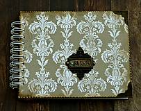 Papiernictvo - Vintage svadobný album BLISS 1 - 7184833_