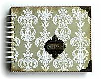 Papiernictvo - Vintage svadobný album BLISS 1 - 7184841_