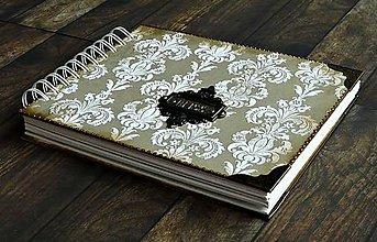 Papiernictvo - Vintage svadobný album BLISS 1 - 7184966_