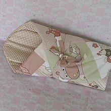 Textil - Zavinovačka s vložkou*Farma* 75x75 - 7187033_