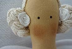 Bábiky - Fialová anjelka - 7188533_