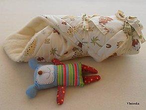 Textil - Zavinovačka pre bábätka Merino proti poteniu a prechladnutiu - 7188703_