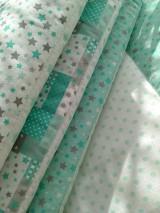 Textil - Hniezdo,mantinel do postieľky*mint* - 7186301_