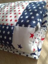 Patchwork detská deka*nebo a hviezdy*