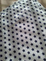 Textil - Patchwork vankúšik *hviezdička* - 7188299_
