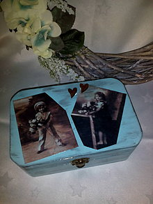 Krabičky - Krabička Vintage - 7189585_