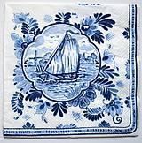 - Servítka RM18- Modrá plachetnica - 7186675_
