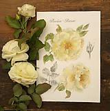 - Zarámovaný obraz žlté ruže 2 - 7187235_