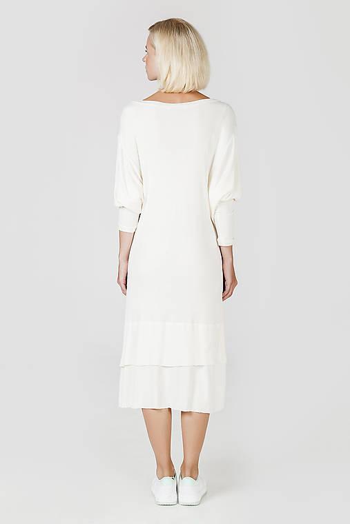 Bílé úpletové šaty   DesignDictat - SAShE.sk - Handmade Šaty 597268d076