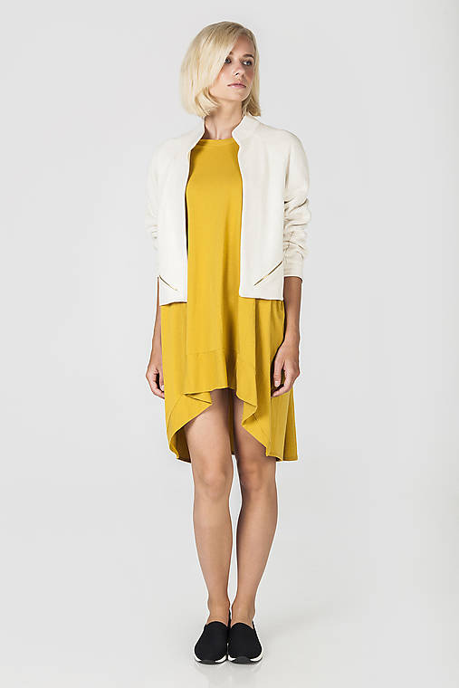 Bílý úpletový kabátek - poslední kus!!!   DesignDictat - SAShE.sk ... 17dc76ab59