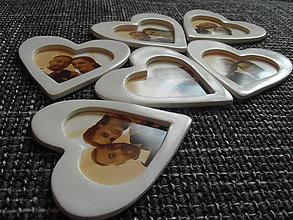 Darčeky pre svadobčanov - magnetka s fotkou - 7187989_
