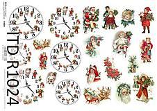 - ryžový papier vianočné motívy - 7189495_