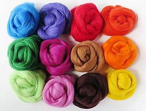 Textil - Veľká sada - mix pestrá 01-140 g - 7186803_