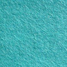 Textil - Rolka filc 180x30cm TURQUOISE - 7188074_