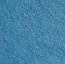 Textil - Rolka filc 180x30cm CORNFLOWER - 7188077_