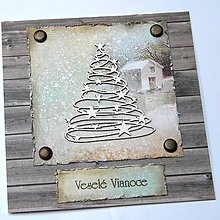 Papiernictvo - Vianočná pohľadnica - 7187002_