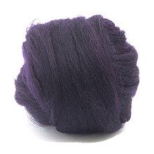 Textil - Merino vlna - 25 g (Aubergine) - 7186905_