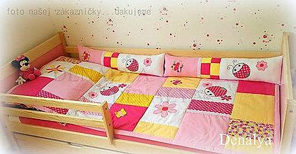 Úžitkový textil - 5 dielna sada DETSKÁ IZBA Beruška - 7193934_