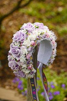 Ozdoby do vlasov - parta na čepčenie by michelle flowers - 7190980_