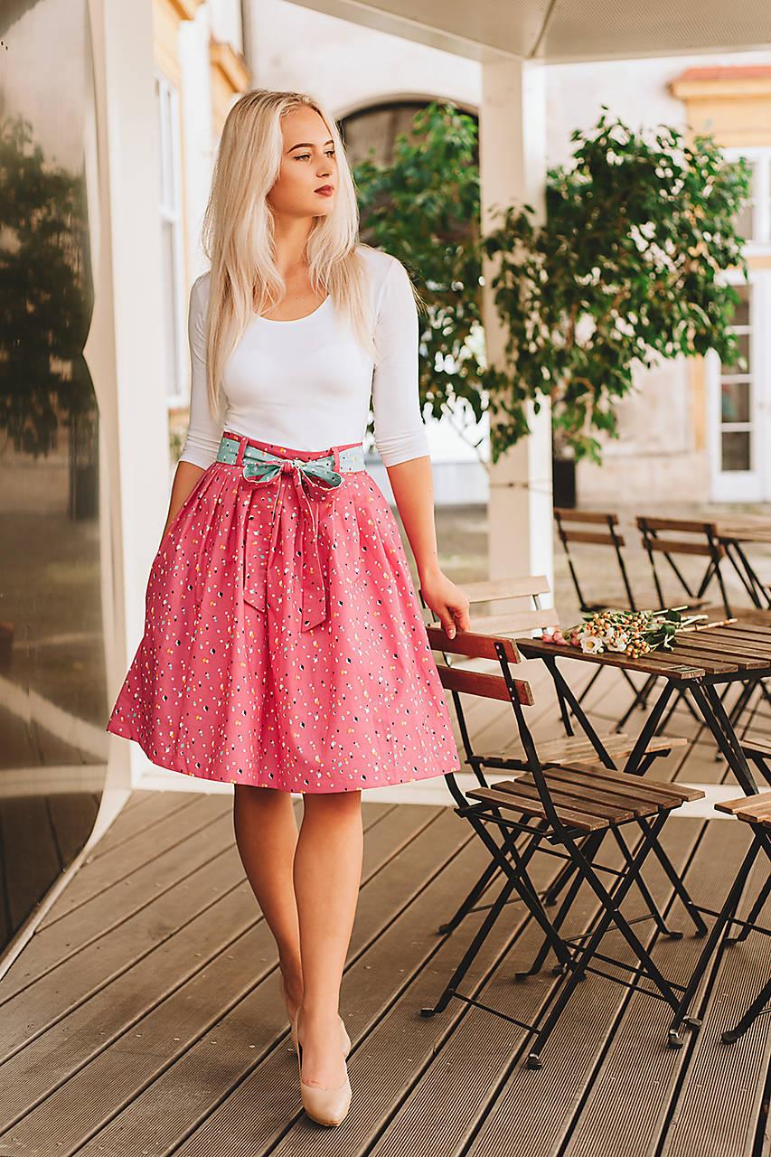 Skládaná sukně Candy