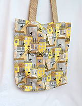 Nákupná taška - Mačka v meste n.2 ZĽAVA z 9,90 na 8,50€