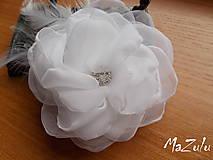 Ozdoby do vlasov - svadobná spona pre nevestu - 7193057_