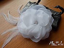 Ozdoby do vlasov - svadobná spona pre nevestu - 7193058_