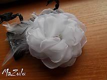 Ozdoby do vlasov - svadobná spona pre nevestu - 7193059_