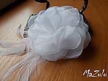 Ozdoby do vlasov - svadobná spona pre nevestu - 7193060_