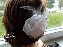 Ozdoby do vlasov - svadobná spona pre nevestu - 7193062_