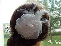 Ozdoby do vlasov - svadobná spona pre nevestu - 7193063_