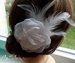 Ozdoby do vlasov - svadobná spona pre nevestu - 7193064_